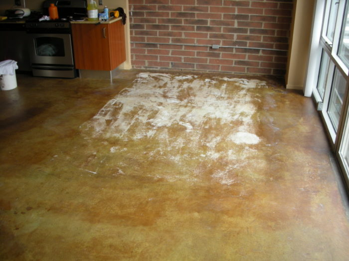 Stained concrete-Treasure Coast Concrete Services Pros-We do concrete services, concrete underlayment & overpayment, polishing, decorative, stamped, stained, sealed, concrete grinding, Stucco installation, EIFS repair, new construction concrete pouring, epoxy floor finishing, concrete repair, commercial concrete contracting work, and more