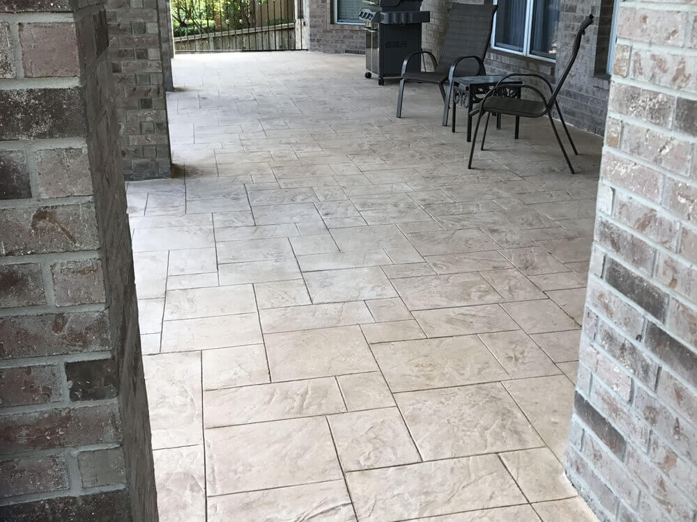 Stamped concrete-Treasure Coast Concrete Services Pros-We do concrete services, concrete underlayment & overpayment, polishing, decorative, stamped, stained, sealed, concrete grinding, Stucco installation, EIFS repair, new construction concrete pouring, epoxy floor finishing, concrete repair, commercial concrete contracting work, and more